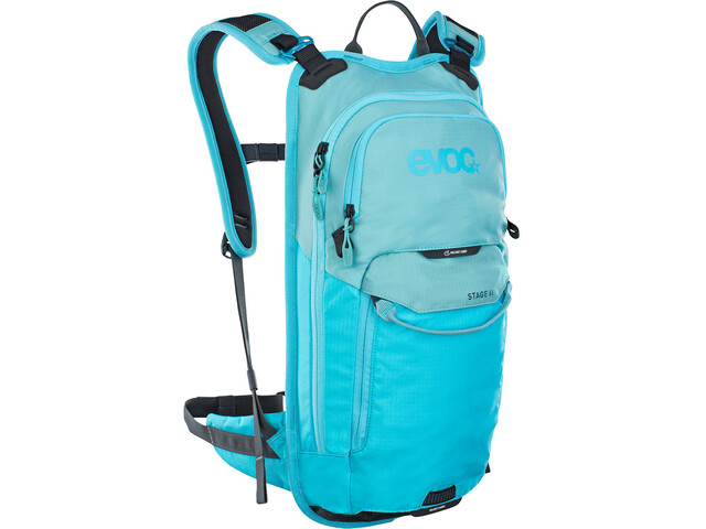 EVOC Stage Mochila Technical Performance 6l, aque blue/neon blue